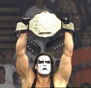 Does Not Wrestling in a WWE Ring, Keep Sting From Being an Icon?