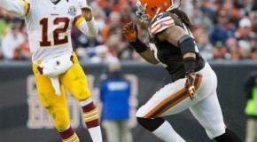 Second Half Good to Washington Redskins; Cleveland Victory Fifth Straight Win