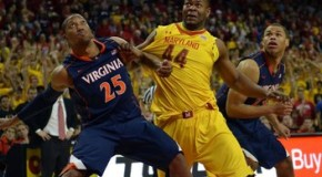 Virginia Threes Trip Terps