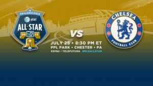 MLS Announces All-Stars Starting XI To Meet Chelsea