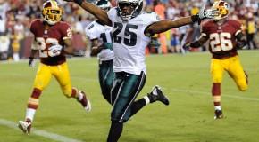 High-Flying Eagles Beat Redskins